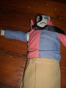 Folk Art Mexico   doll  hand made  cloth Vintage  Senor man #20
