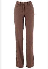Stretch- Jeans mit schmückendem Zopfmuster   Gr.36
