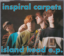 MAXI CD INSPIRAL CARPETS ISLAND HEAD E.P. 4 TITRES BIGGEST MOUNTAIN MADE FRANCE