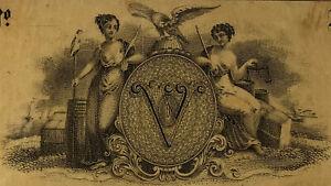 $5 circa 1828 Bank of Bennington, VT