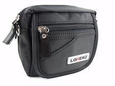 QUALITY BLACK NYLON SMALL LIGHT BAG BELT STRAP SHOULDER CROSSOVER BODY WAIST BAG