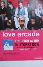 LOVE ARCADE POSTER, DEBUT ALBUM PROMO (T11)