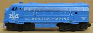 American Flyer 21205 EMD F-9 Diesel Engine Boston & Maine *TESTED* S-Gauge