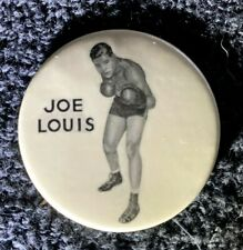 Vintage 1950's Joe Louis World Heavyweight Champion pinback