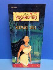 "POCAHONTAS Keepsake Doll 16"" by Applause in original collector's box NOS"