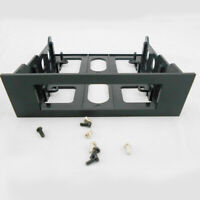 Bracket Universal 3.5in To 5.25in Mount Plastic Front Bay Hard Drive Adapter
