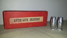Satin-Lite Salt & Pepper Shaker Set - Metal - 6 Shakers in Box 2 Inch 2 avail