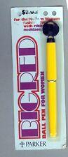 PARKER BIG RED MANDARINE YELLOW  BALLPOINT PEN FOR LADIES  NEW