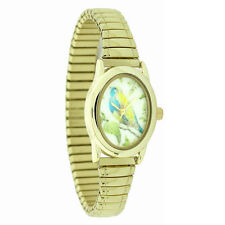 Ladies Expandable Watch By Portobello Road Floral  Bird ( A2Z)