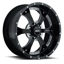 "SOTA 20x9"" Novakane Wheels Rims Death Metal Black 6x135 for '04-17 F-150 Trucks"