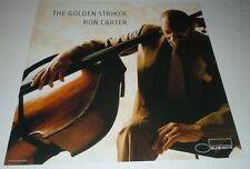 Ron Carter~The Golden Striker~Promo Poster Flat~Double Sided~12x12~Nm Cond~2003