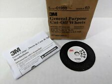"New listing 3M 1988 General Purpose Cut Off Wheel 01988 3"" x 1/16"" x 3/8"" 50/Bx"