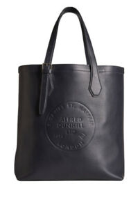 Dunhill 100% Leather Black Chiltern Tote Bag AMAZING BNWT RRP £795