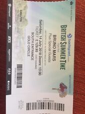 bruno mars tickets BST Hyde Park Saturday 14th July