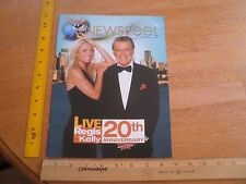 Regis and Kelly 20th anniversary Disney Newsreel 2007 magazine Fairy Tale Weddin