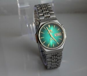Orient Automatic Date/Day - Dial blue 21 STONES AAA crystel
