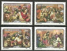 Bophuthatswana - Die Leidensgeschichte Jesu Christi (IX) Mi. 261-264 postfr.
