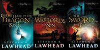 Stephen Lawhead DRAGON KING TRILOGY Fantasy Series PAPERBACK Set of Books 1-3