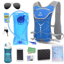 Outdoor Hiking Hydration Backpack Water Bladder Suitable Running Cycling Camping