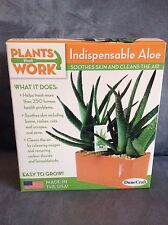 Dunecraft Plants That Work Indispensable Aloe Easy To Grow - New In Box