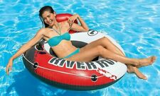 "Inflatable Comfort River Run 1 53"" Floating Water Tube Lake Pool Raft Lounger"
