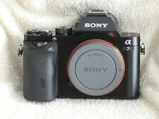 SONY ALPHA A7 FULL FRAME CAMERA WITH 28-70MM LENS + EXTRA BATTERIES. 2 PIX TAKEN