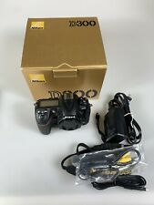 Beautiful Nikon D300 12.3 MP Digital SLR Camera Mint In Box Low Use