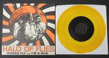 "HALO OF FLIES Human Fly / I'm A Bug 7"" YELLOW VINYL Hazelmeyer AM/REP 45 Cramps"