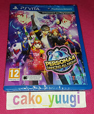 PERSONA 4 DANCING ALL NIGHT PS VITA  NEUF SOUS BLISTER