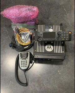 Motorola APX6500 With Remote Mount O7 Head & Encryption In VHF