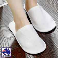 20 Pairs Disposable Cotton Slippers Travel Hotel Guest Slipper CSLIP 1170x20