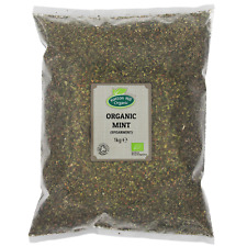 Organic Dried Mint (Spearmint) 1kg Certified Organic