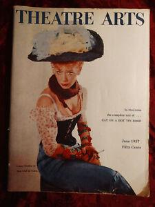 THEATRE ARTS June 1957 Tennessee Williams Gwen Verdon Elia Kazan Ward Morehouse