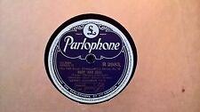 "10"" 78RPM - BENNY GOODMAN TRIO - BODY AND SOUL (PARLOPHONE R 2983) E"