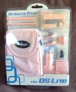 DS LITE ULTIMATE ACCESSORIES PACK - PINK