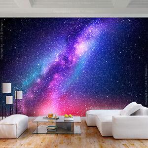 Galaxy VLIES FOTOTAPETE WANDBILDER TAPETE WOHNZIMMER XXL Weltraum Sterne Kosmos