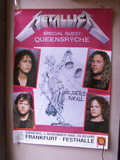METALLICA,FRANKFURT FESTHALLE poster 60x83 cm vg+/ gerollt