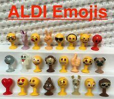 Aldi Emoji Emojis -  Figur aussuchen aus allen 24 Figuren oder komplett Set NEU