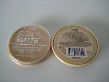 Rimmel Stay Matte Long Lasting Pressed Powder - Mattierender Puder NEU & OVP