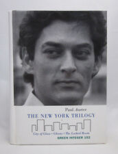 The New York Trilogy SIGNED Paul Auster - Hardcover First Edition