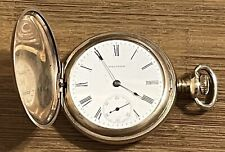 ANTIQUE 1904 WALTHAM SIZE 16 G.F. POCKET WATCH - NOT RUN * AS IS *