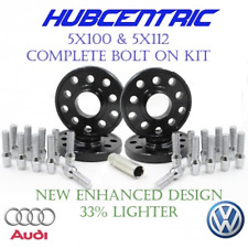 (4) 5x100 5x112 WHEEL SPACERS KIT 20MM THICK VW AUDI 14X1.5 LUG BOLTS 57.1 HUB