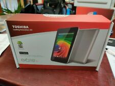 """Toshiba Excite 7c AT7-B01YL 7"""" Tablet 1GB 8GB WiFi BT Android PDA0HP-002LM1 *NEW"""