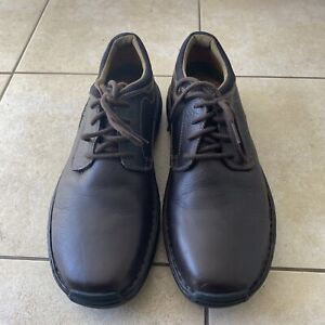 TIMBERLAND Men's Brown Leather Lace Up Oxford Dress Shoes Sz 11 M | 54556
