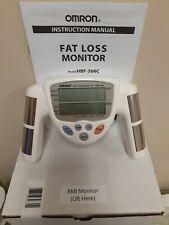 Omron HBF-306 / 306C Fat Loss BMI Monitor Tracker  White