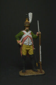 Tin soldier figure Dragoon, France 1805 54 mm