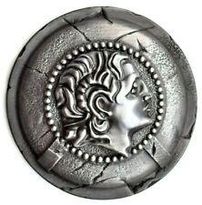 Alexander the great on greek shield wall art, greek mythology wall decor gift