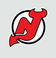 New Jersey Devils NHL Hockey Full Color Logo Sports Decal Sticker-Free Shipping