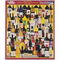 Wine Bottles 1000 piece jigsaw puzzle   760mm x 610mm   (wmp)