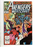 West Coast Avengers Vol. 2 # 53 - 57 Marvel Byrne 1989 NM-